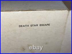 VINTAGE STAR WARS MIB Death Star Escape Micro Collection Kenner Mailer 1982