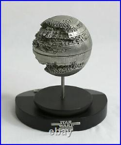 VINTAGE STAR WARS Rawcliffe Death Star II LARGE 234/4500 Pewter RARE