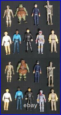VTG Star Wars Death Star Space Station & Orig Box + Figures, Imperial Transport