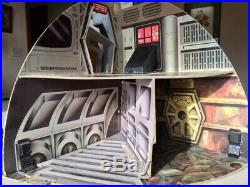 Very Rare Vintage Star Wars 1977 Palitoy Death Star Playset Loose