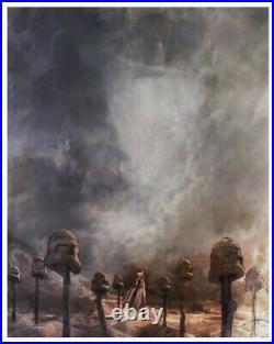 Victory And Death Star Wars Ahsoka Tano Limited Edition Art Print