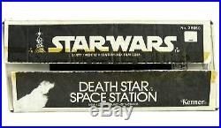 Vintage 1977 Kenner Star Wars Death Star Space Station Playset Complete NM withBox