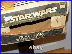 Vintage 1977 Star Wars Death Star Space Station with Box