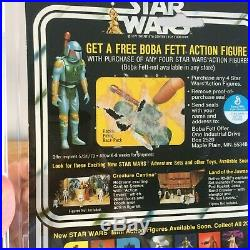 Vintage 1978 Death Star Droid AFA 70 Ex+, 60, 85, 85 Star Wars 20 Back-X