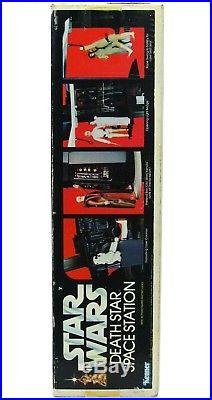 Vintage 1978 Kenner Star Wars Death Star Space Station Playset Complete withLP Box