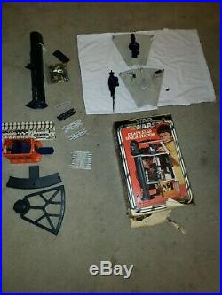 Vintage 1978 Kenner Star Wars Death Star Space Station Playset with Box, figures