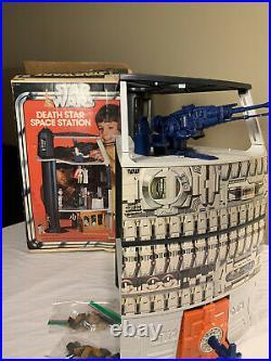 Vintage 1978 Star Wars Death Star Space Station Playset w Box
