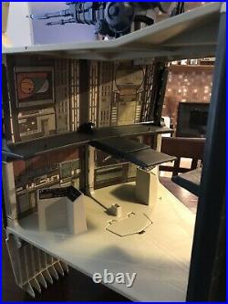 Vintage 1978 Star Wars Death Star Space Station With Box & Instructions
