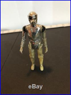 Vintage 1978 Star Wars French Meccano Death Star Droid NO Coo Raised Bar RARE