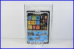 Vintage 1979 Kenner STAR WARS 21 Back-A Death Star Droid AFA 85 MOC