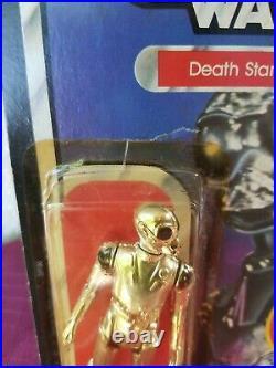 Vintage 1982 Kenner Star Wars Death Star Droid ESB Empire Strikes Back 47 back