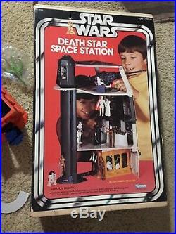 Vintage Kenner 1977 Star Wars Death Star Space Station withOriginal Box COMPLETE