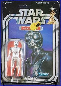 Vintage Kenner 1980 Star Wars 21 Back 21A Death Star Droid