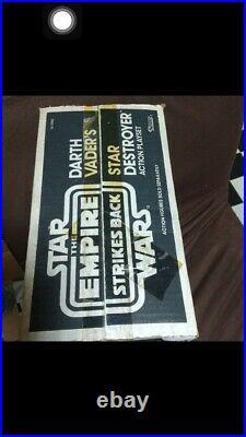 Vintage Kenner Rotj Star Wars X-Wing Fighter Plus Death Star
