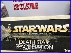 Vintage Kenner Star Wars 1978 Death Star Space Station Collectable withBox