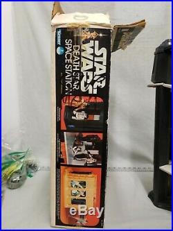 Vintage Kenner Star Wars Death Star Playset With Box Near Complete 1977 HTF