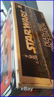 Vintage Kenner Star Wars Death Star Space Station 100% Complete withBox & TRASH