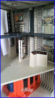Vintage Kenner Star Wars Death Star Space Station Playset Near Complete 1978
