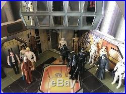 Vintage Original Star Wars Palitoy Death Star 1977. Complete Very Rare
