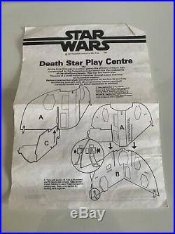 Vintage Original Star Wars Palitoy Death Star In Great Condition