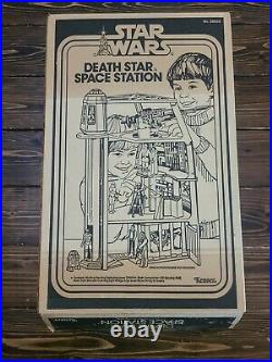 Vintage STAR WARS DEATH STAR SPACE STATION Playset Box Only Kenner 1978