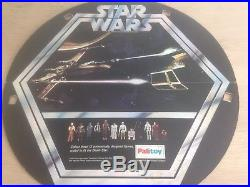 Vintage STAR WARS Figures PALITOY DEATH STAR (1977) SET