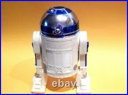 Vintage Star Wars 12 inch R2D2 with Death Star Plans