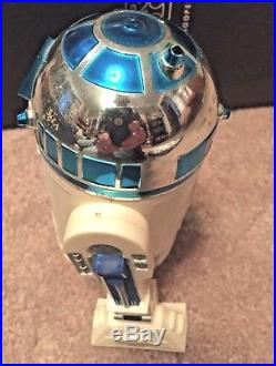 Vintage Star Wars 12 inch action figure R2D2 complete with death star plans