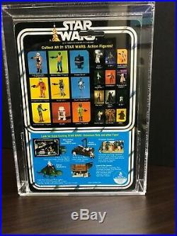 Vintage Star Wars 1978 Death Star Droid 21 Back A AFA 85 (80,85,85) Beauty! MOC
