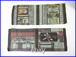 Vintage Star Wars 1978 Death Star Space Station Playset Kenner Parts