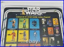 Vintage Star Wars 21A Back Death Star Droid MOC Hard Plastic Case Included