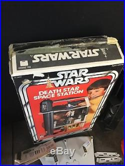 Vintage Star Wars A New Hope Death Star Space Station Playset With Box 1978