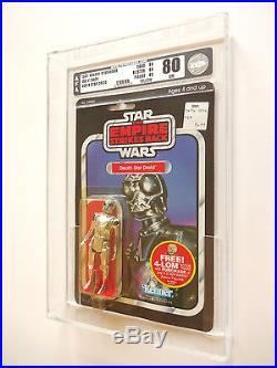 Vintage Star Wars Afa 80+ (80/85/85) 1982 Esb Death Star Droid 47back Moc