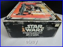 Vintage Star Wars Canadian Boxed Death Star Space Station with insert Kenner