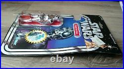 Vintage Star Wars DEATH STAR DROID 20 back E MOC Kenner 1978