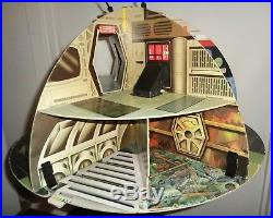 Vintage Star Wars DEATH STAR PLAY CENTRE TOLTOYS 1978 Complete & AWESOME