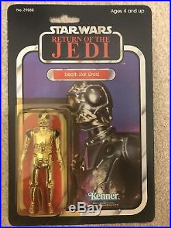 Vintage Star Wars DSD DEATH STAR DROID MOC ROTJ Kenner