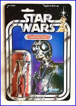 Vintage Star Wars Death Star Droid 21 Back Moc
