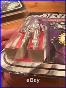 Vintage Star Wars Death Star Droid Kenner 20 Back MOC