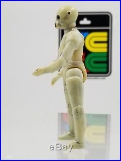 Vintage Star Wars Death Star Droid with Removable Limbs! Turkish Bootleg UZAY