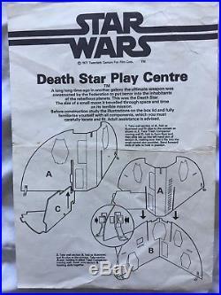 Vintage Star Wars Death Star Palitoy / Missing Upper Gun