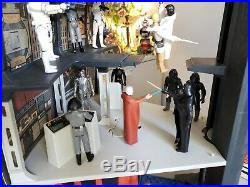 Vintage Star Wars Death Star Playset 100% Complete with Box Kenner 1978
