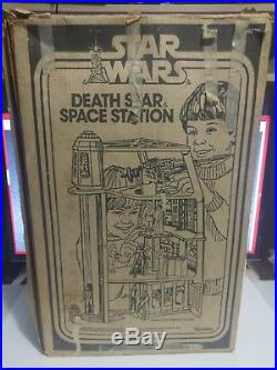 Vintage Star Wars Death Star Space Station Playset with Box 1978 not complete