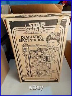 Vintage Star Wars Death Star Space Station Playset with Box Kenner 1978