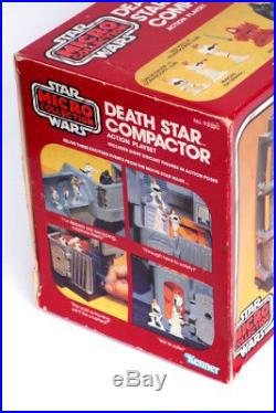 Vintage Star Wars ESB Kenner 1980 Micro Collection Death Star Compactor Playset