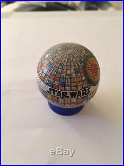 Vintage Star Wars Original Helix Pencil Sharpener Death Star 1977 Colours Bright