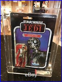 Vintage Star Wars ROTJ Death Star Droid 77bk A AFA85