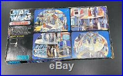 Vintage Star Wars Toltoys Death Star Play-set Complete With Box. Rare