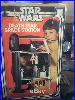 Vintage star wars death star playset